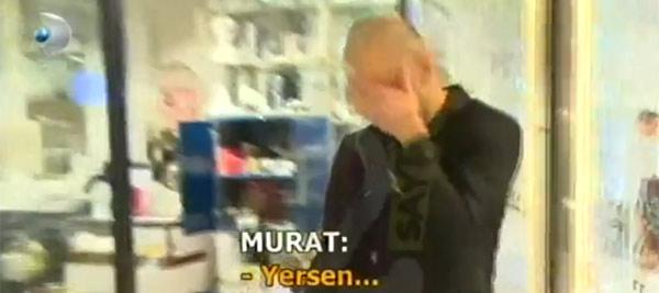 MasterChef Murat, AVM'de olay çıkardı!