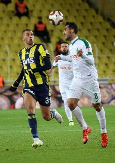 Fenerbahçe - Giresunspor maçından kareler