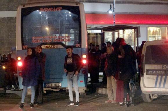 Erzurum'da korku dolu anlar! Katliam olacaktı...