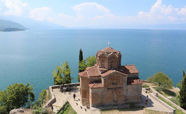 Macera rotası Makedonya