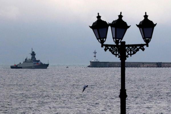 Rus füze gemisi giriş yaptı!