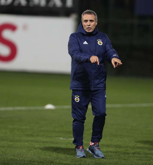Fenerbahçe'de Ersun Yanal ilk idmanına çıktı