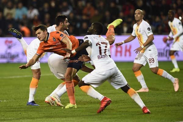 Medipol Başakşehir - Galatasaray maçından fotoğraflar