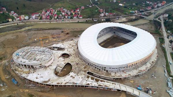 Çotanak Stadı son virajda