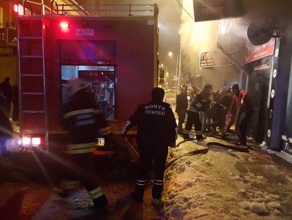 Konya'da korkunç yangın! Çok ağır bilanço...