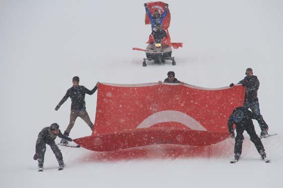 Çaldıran'da kayak festivali