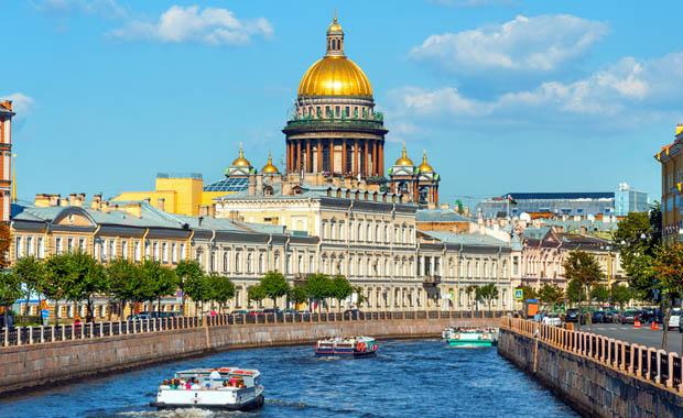 Tarihi başkent St. Petersburg