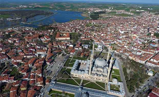 Toplam turistin %10 Edirne'ye