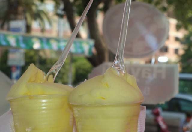 Hatay'ın serinleten lezzeti: Limon dondurması