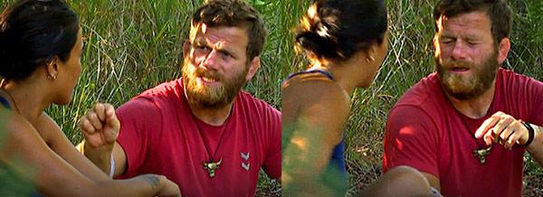 Survivor'da şok hareket! Yüzüne tükürdü