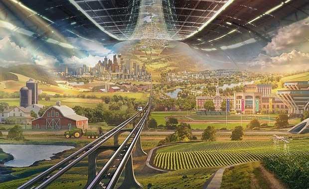 İşte Amazon'un sahibi Jeff Bezos'un hayalindeki uzay kentleri