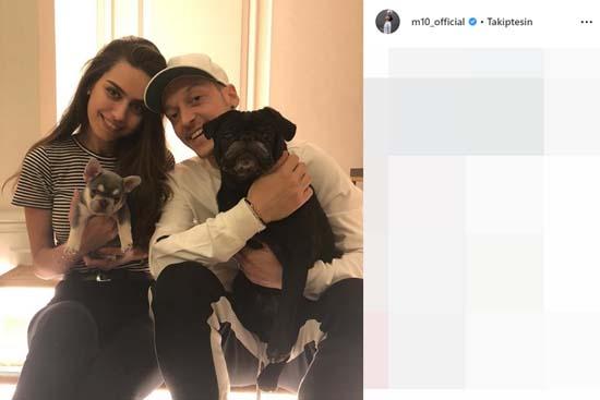 Mesut Özil ve Amine Gülşe'den çok özel balayı!