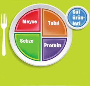 besin tabağı ile ilgili görsel sonucu