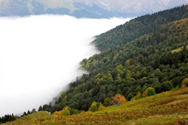 Trabzon Tatili Sümela Yolu Muhteşem Görüntüleri 2014