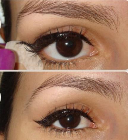 Bantla Kolay Eyeliner Sürme Yöntemi 1
