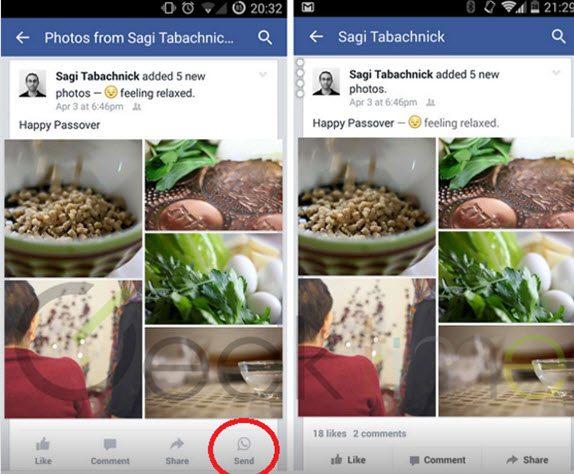 fft16 mf5499203 - Facebook'a Whatsapp Butonu Ekleniyor