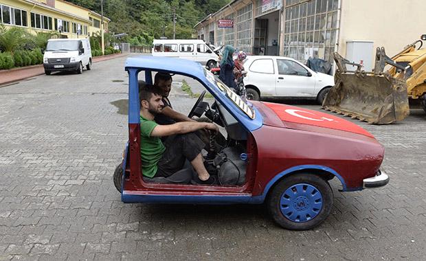 Oflu Motor Ustaları Arabayı Ikiye Böldü Otomobil Haberleri