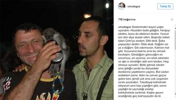 (Artvin /Borçka) Yetiştirdiği Oyuncu İsrafil Köse hayatını kaybetti