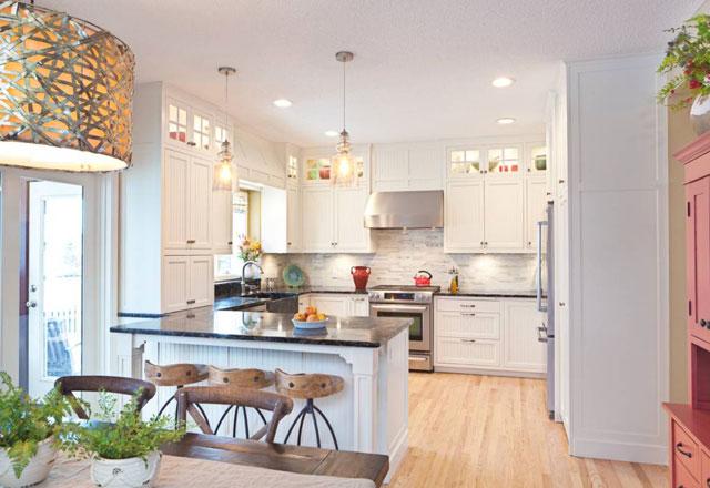 A k mutfaklara yeni tarzlar getirdik mutfak haberleri for White heron paint