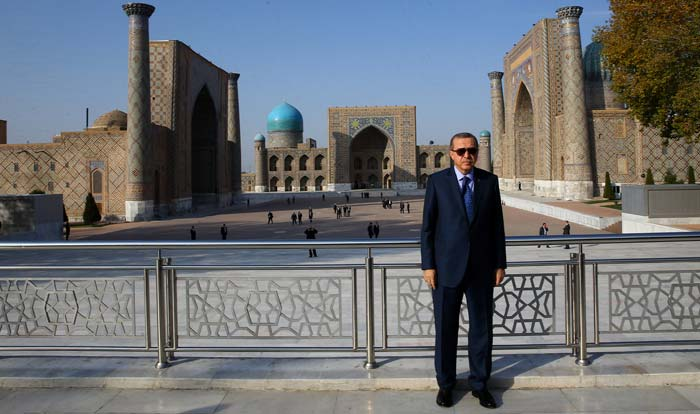 Cumhurbaşkanı Erdoğan'ın Özbekistan ziyareti ile ilgili görsel sonucu