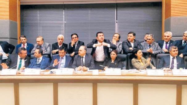 Komisyondan geçti söz Genel Kurul'un