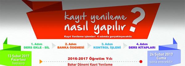 Aöf Ders Ekle Sil: Anadolu Üniversitesi AÖF Kayıt Yenilemeleri Için