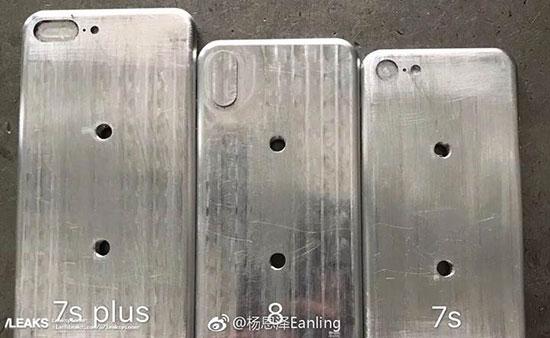 IPhone 8 diğer iPhone modelleri ile yan yana görüntülendi