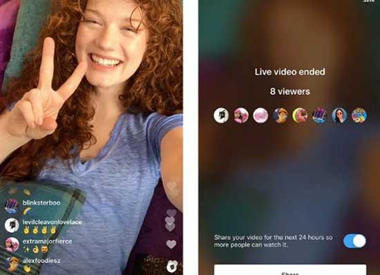 Instagram'dan canlı yayın için yeni özellik