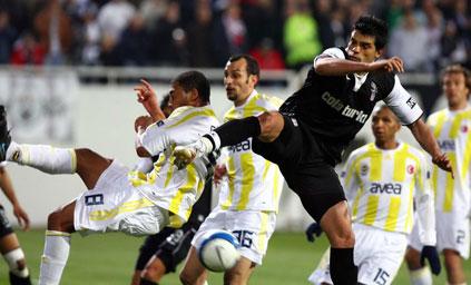 Beşiktaş:1 - Fenerbahçe:2 (Maç sonucu)