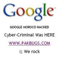 Google da Hackerlardan Nasibini Aldı...