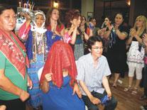 Japon damada Türk düğünü