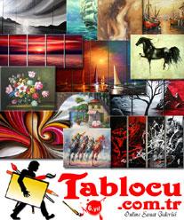 Modern tablolar ile eviniz sanata doyacak!