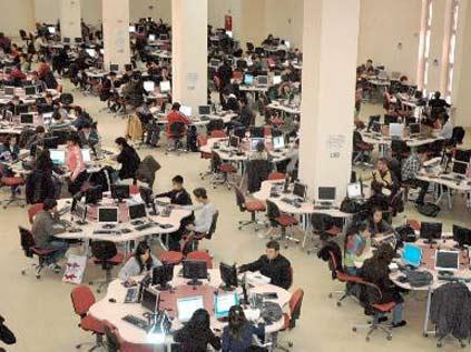 Türkiye'nin en büyük bilgisayar merkezi Konya'da
