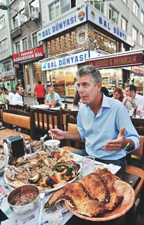 Efsanevi şefin İstanbul sofrası