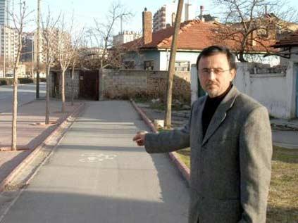 Konya'da fıkra gibi bisiklet yolu
