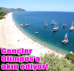 Turizmin kalbi Olimpos'ta at�yor!