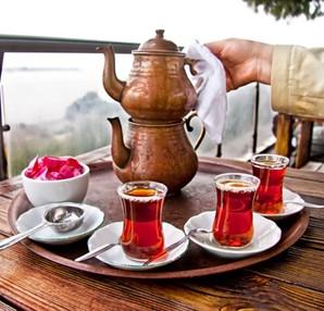 Sağlık için çay için!