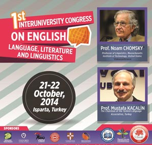 1. Üniversitelerarası İngiliz Dili, Edebiyatı ve Dilbilimi Kongresi