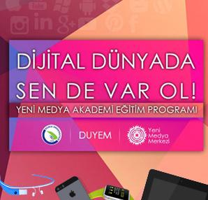 Yeni Medya Akademisi ile dijital dünyada var ol!