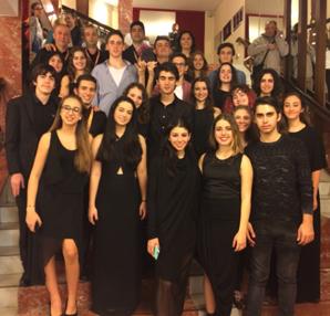 Hisar Okulları B-Yüzü Orkestrası,Bir Kez Daha San Remo Birincisi