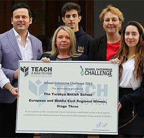 Tarabya İngiliz Okulları'na Dünya Girişimcilik Ödülü!