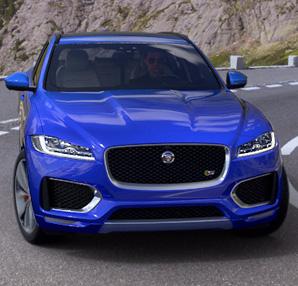 Jaguar F-Pace modelini Kanada'da tanıtacak!
