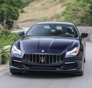 Maserati Quattroporte göz kamaştırdı!