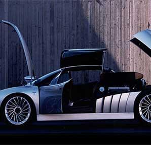 Unutulmuş zamanın çılgın konsepti 1997 Alfa Romeo Scighera!
