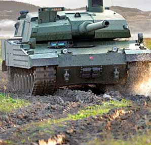 Milli tank Altay'a motor Ukrayna'da bulundu!