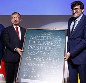 MEB 'dik temel harflerle öğretim'i tanıttı