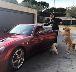 Karşınızda 21 otomobiliyle Cristiano Ronaldo...