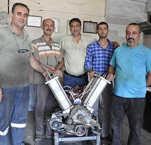 Türk mucitler kendi elektriğini üreten motor icat etti