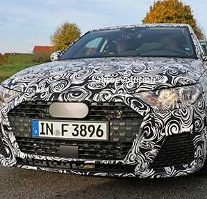 Yeni Audi A1 test sürüşünde göründü