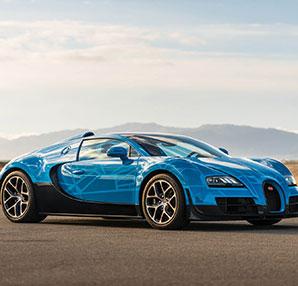 Optimus Prime temalı Bugatti Veyron satışa çıkıyor